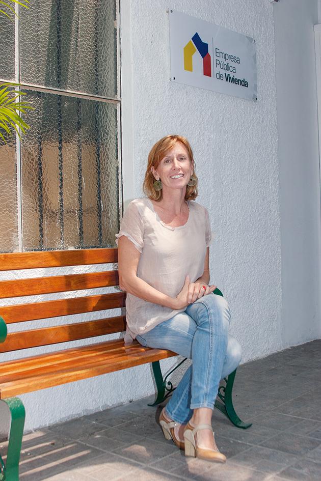 Montserrat Benedito, Gerente General Empresa Pública Nacional de Hábitat y Vivienda