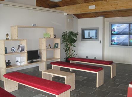 Interior de la vivienda. Foto: Sotavento