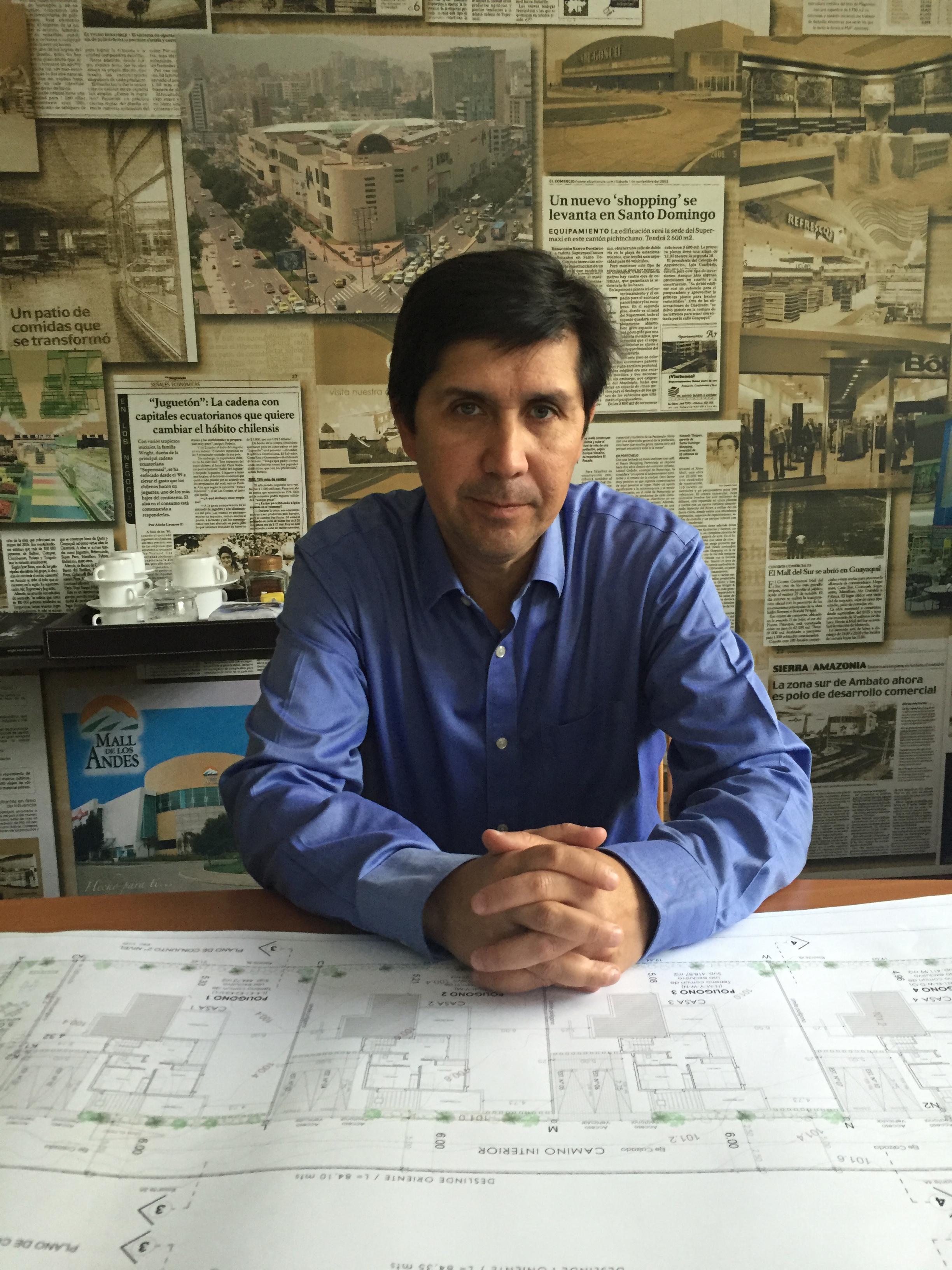 Arq. Macerlo Soto Hurtado. Director Diseño Arquitectónico, Wright Soto y Asociados