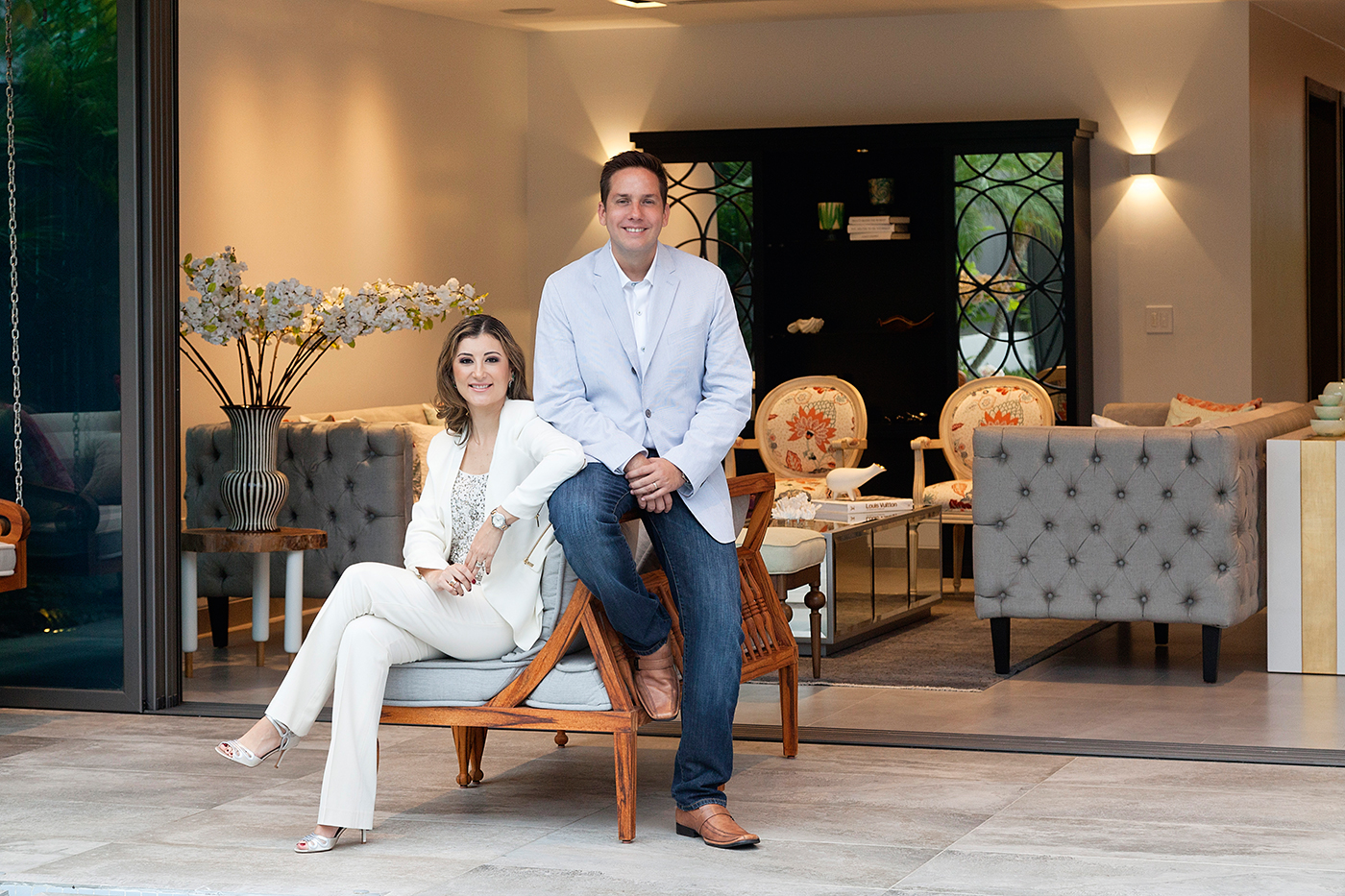Daniela Del Campo y Diego Guerrero