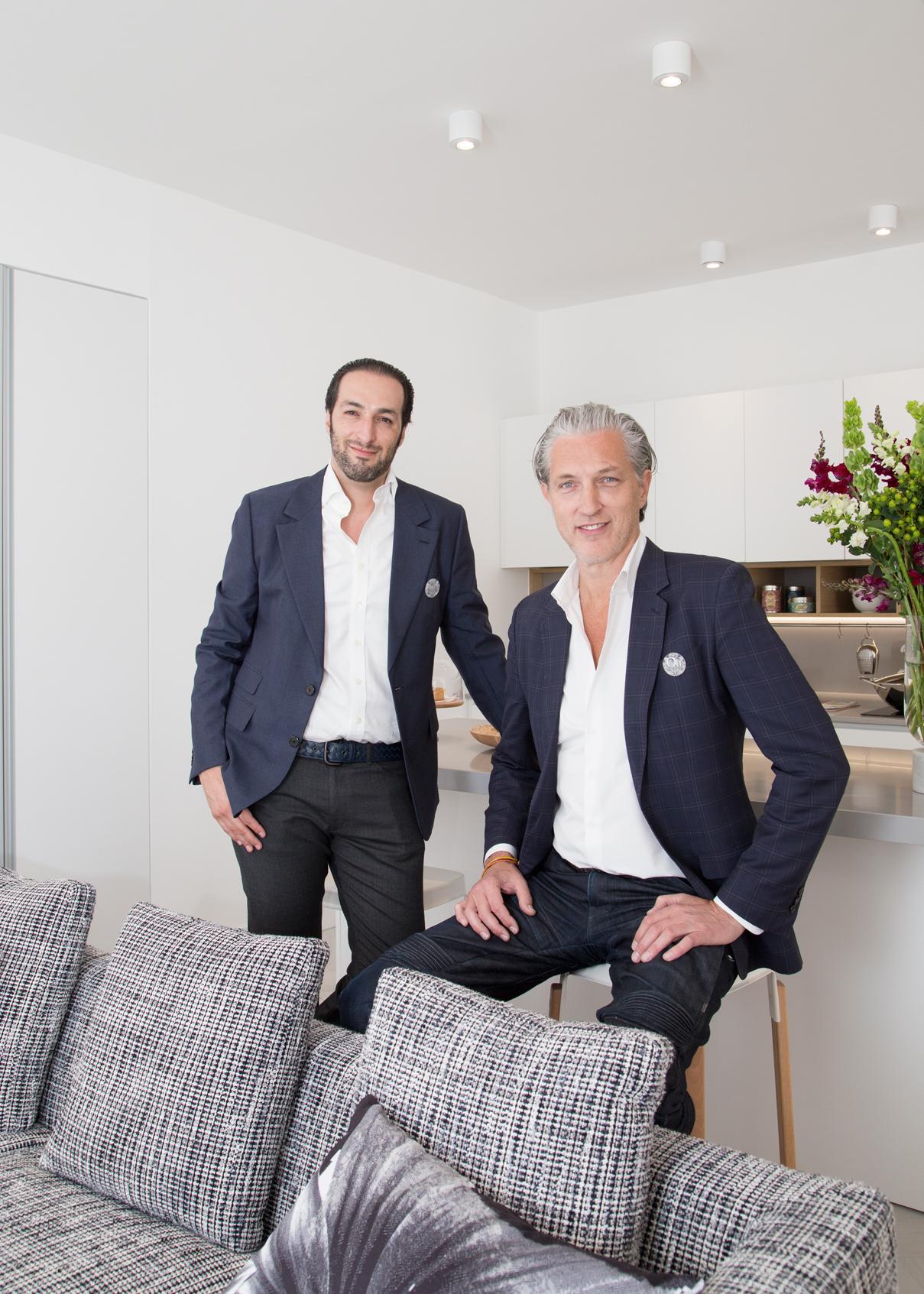 Joseph Schwarzkopf y Marcel Wanders