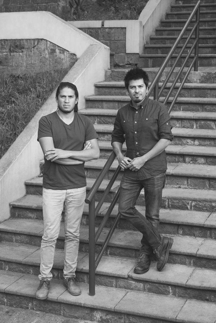 Daniel Moreno Flores y Sebastián Calero