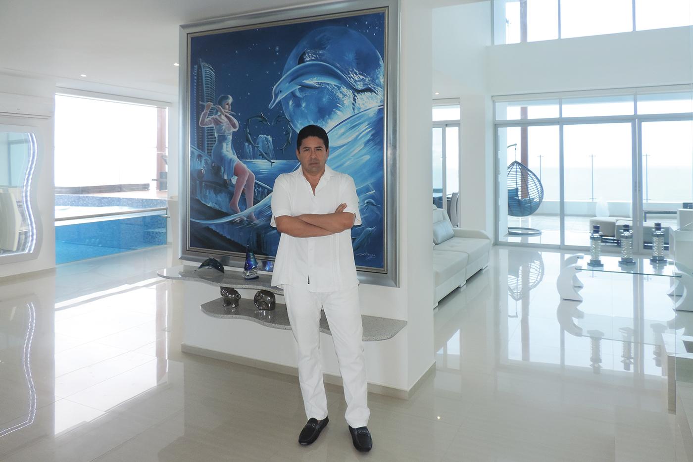 Rodrigo Andrade, Presidente Ejecutivo Constructora Andrade Rodas