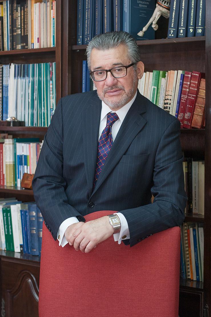 Diego Almeida Guzmán, Socio Principal y Técnico de Almeida Guzmán & Asociados