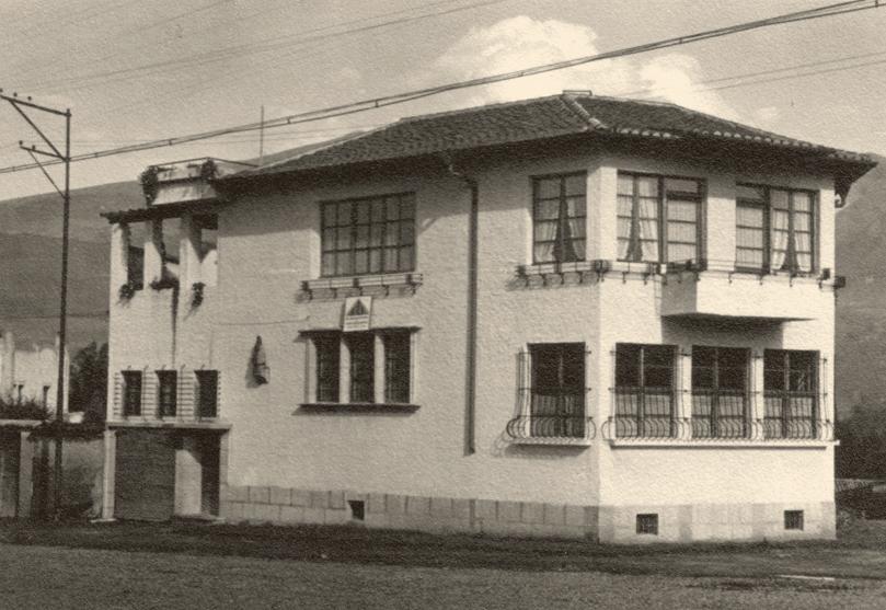 CASA URRUTIA. Foto: Archivo Familia Kohn, Quito. Digitalización: Shayarina Monard (2007) FADA - PUCE
