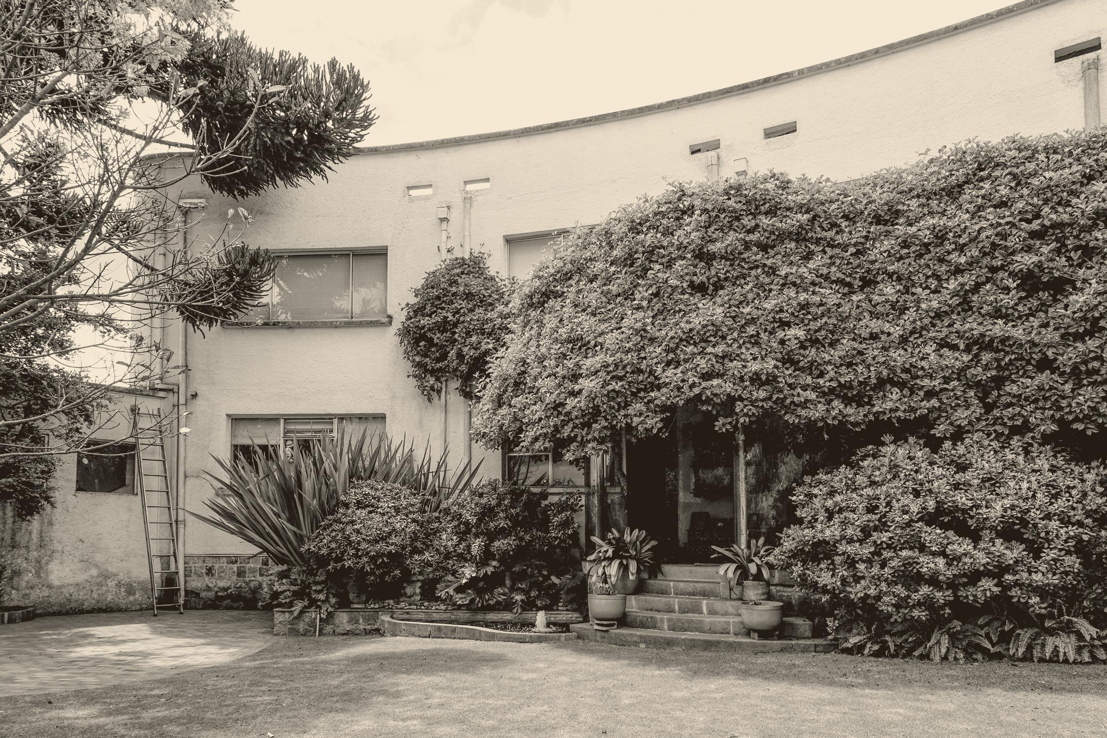 Casa Taller Olga Fisch. Foto: Rómulo Moya Peralta, Archivo Trama