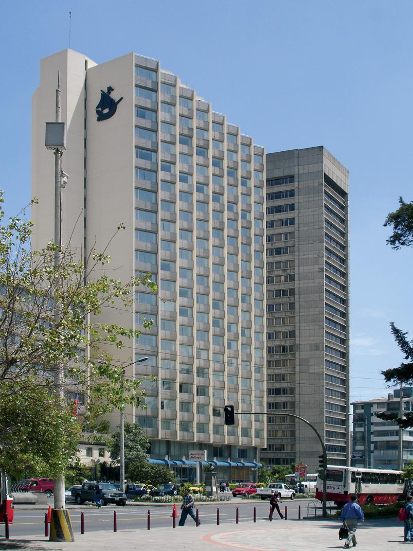 Hotel Hilton Colón. Foto: Rómulo Moya Peralta, Archivo Trama