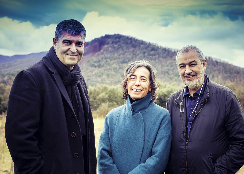 Revista Clave - Rafael Aranda, Carmen Pigem y Ramón Vilalta