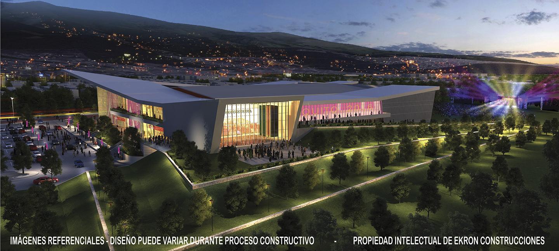 Revista Clave! render centro de convenciones