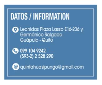 Quinta Huasipungo - Clave Turismo