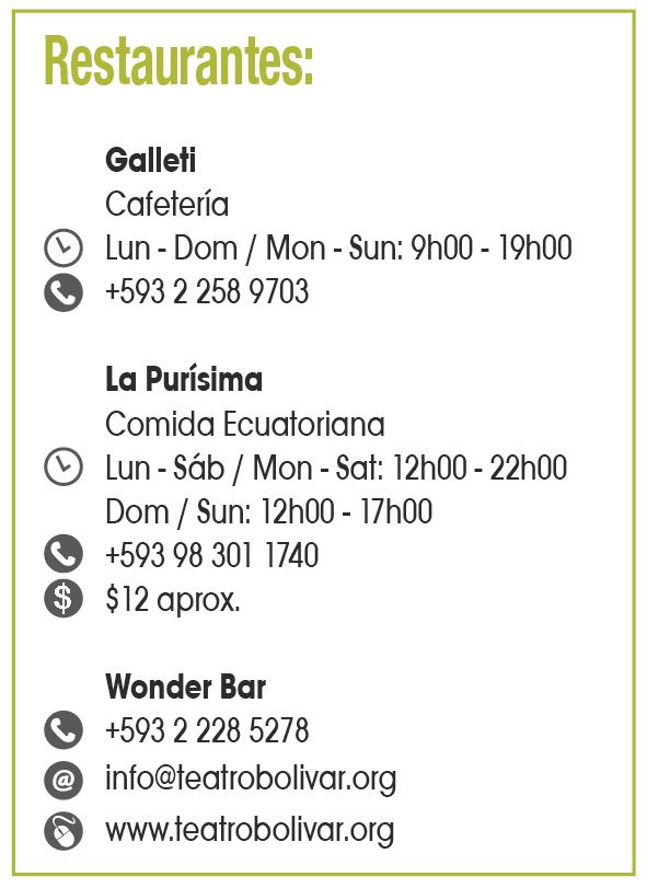 Teatro Bolívar - Clave! Turismo