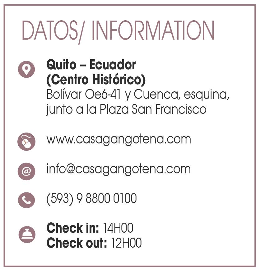 Casa Gangotena - Clave! Turismo