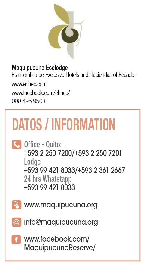 Maquipucuna Ecolodge - Clave! Turismo