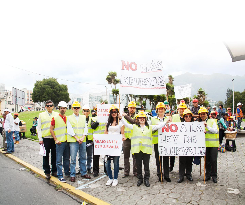 Marcha Ley de Plusvalía - Revista Clave!