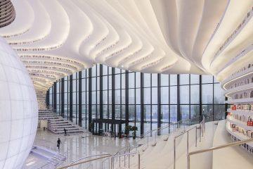 Biblioteca Tianjin Binhai - Revista Clave!