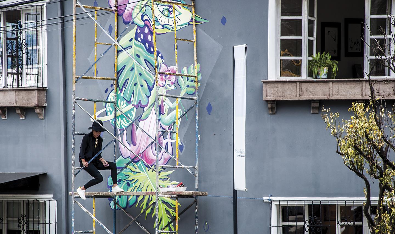 Mo Vázques, arte urbano - Revista Clave!