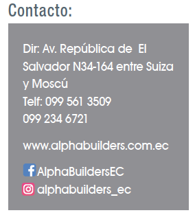 Alpha Builders-Revista CLAVE!