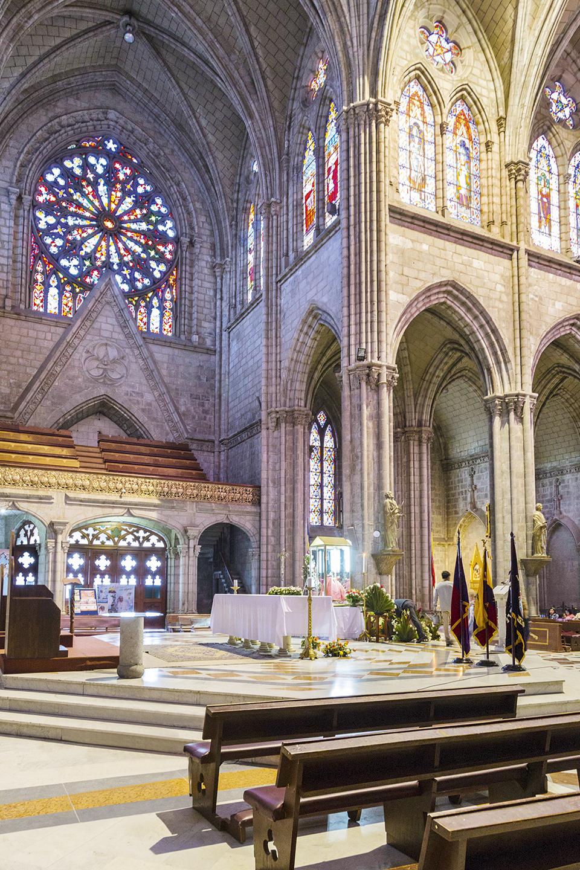 La Basílica - Revista CLAVE Turismo Ecuador