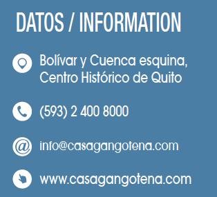 Casa Gangotena - Revista CLAVE Turismo Ecuador