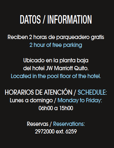 JW Marriott Quito - Revista CLAVE Turismo Ecuador