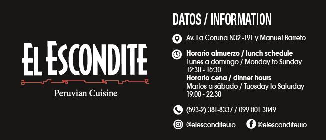 El Escondite - Revista CLAVE Turismo Ecuador