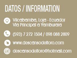 Descanso del Toro - Revista CLAVE Turismo Ecuador