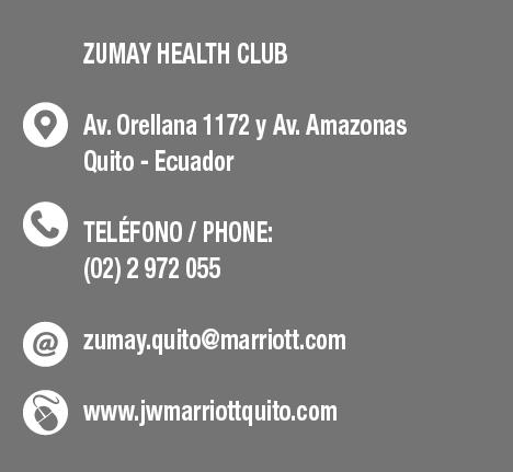 Zumay JW Marriott Quito - CLAVE Turismo Ecuador