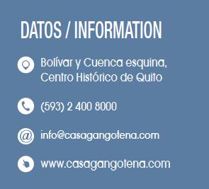Casa Gangotena - CLAVE Turismo Ecuador