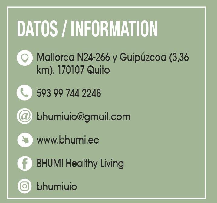 Bhumi - CLAVE! Turismo Ecuador