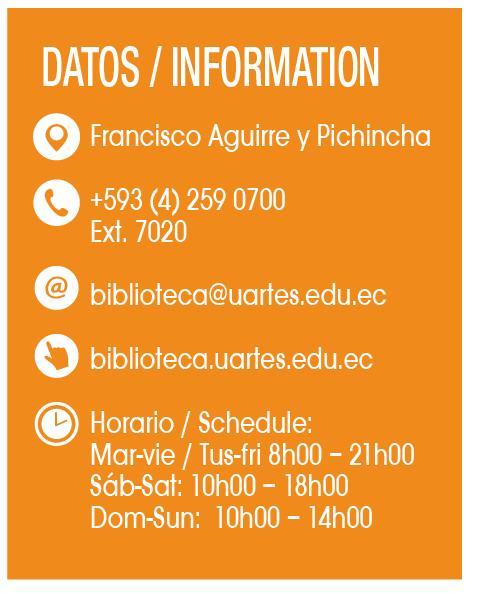 Biblioteca de las Artes - CLAVE! Turismo Ecuador