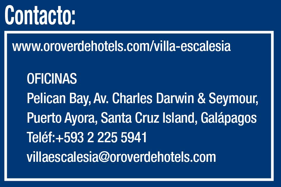 VILLA ESCALESIA - Revista CLAVE! Ecuador