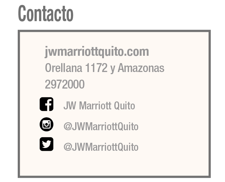 JW Marriott - Revista CLAVE! Turismo