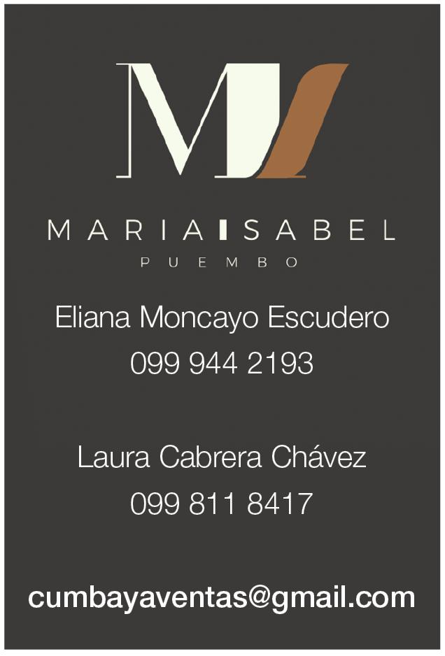 Urbanización María Isabel - Revista CLAVE!