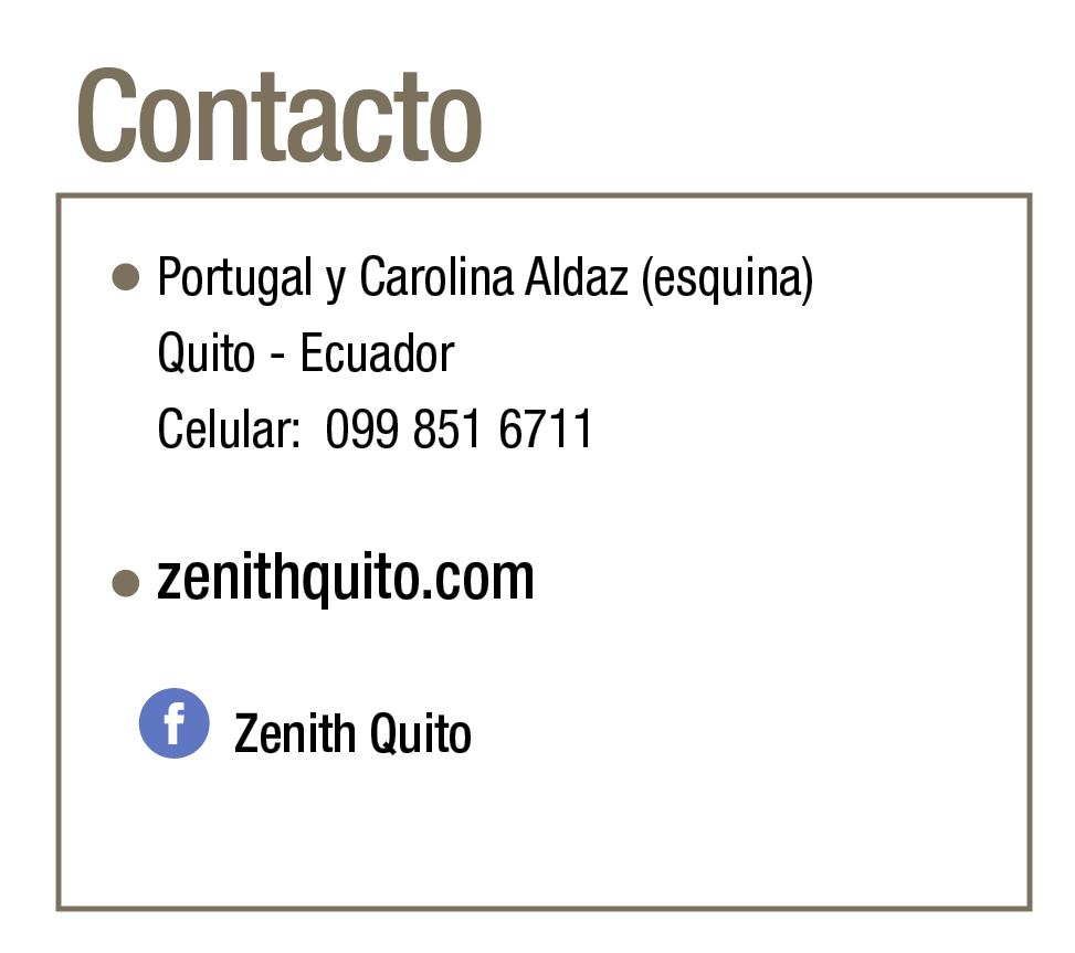 Zenith Luxury Living - Revista CLAVE! 94