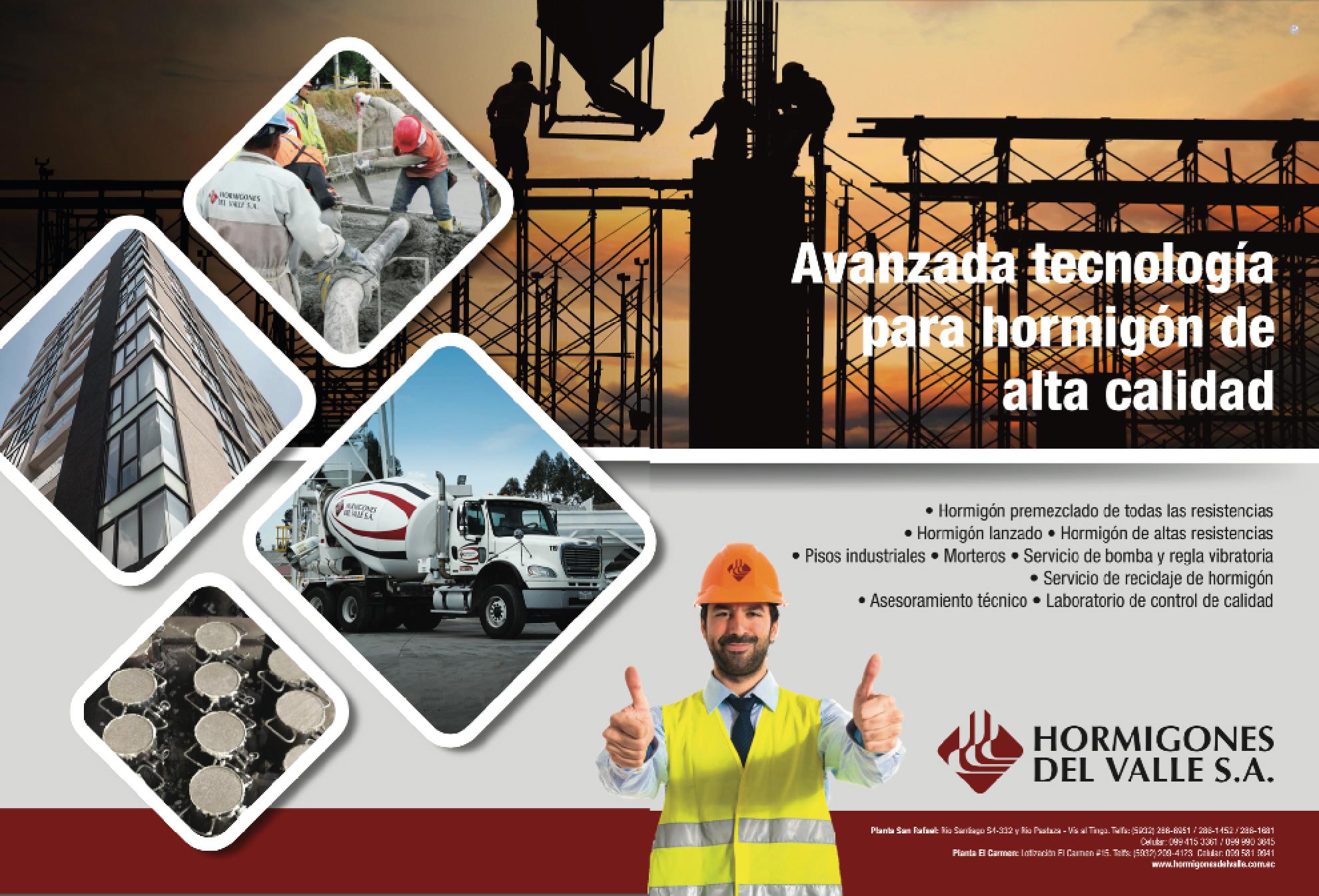 HORMIGONES DEL VALLE - Revista CLAVE!