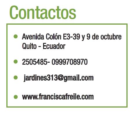 Francisca Freile - Revista CLAVE! 95